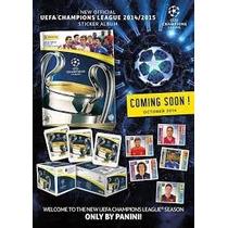 Album Champions 2014-2015 Panini Barajitas Detalladas