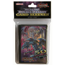 ( Geraval ) 50 Forros Konami Cartas Yugioh Double Dragon