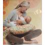 Almohada Cojin Lactancia Amamantar Materna Con Forro Lavable