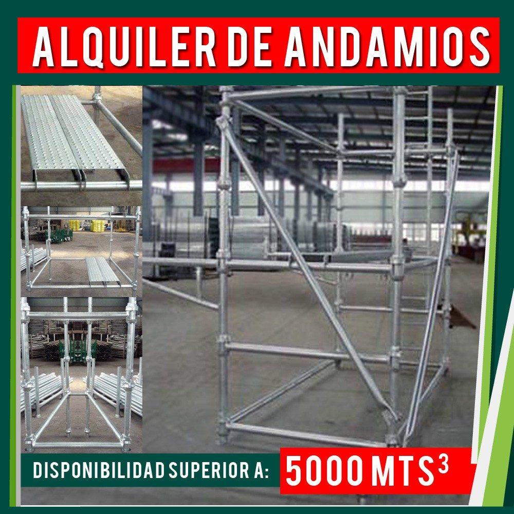Alquiler andamio cuplock suministro montaje andamios for Alquiler de andamios en valencia