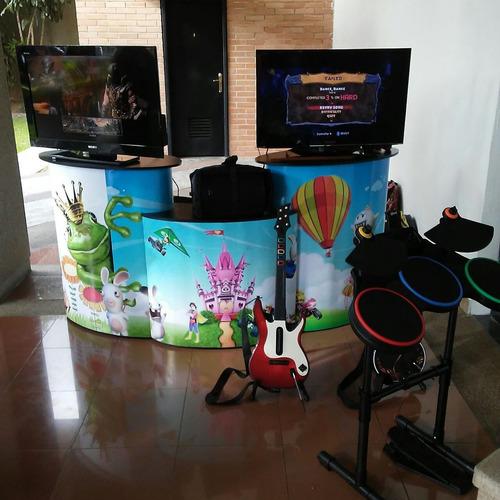 Alquiler Estacion De Videojuegos Guitar Hero
