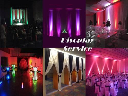 Alquiler Iluminación Decorativa Led Y Discplay...