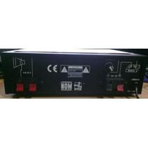 Amplificador Para Perifoneo J&b 40w 12v & 110v