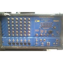 Power Amplificador Consola Para 6 Microfono Coon Efeccto