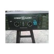 Vendo Amplificador Ca 18 Crest Audio 100% Operativo