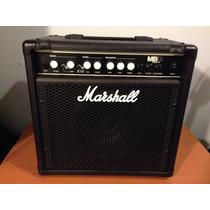 Amplificador Marshall Mb15 Para Bajo Y De Regalo Cable Plug