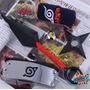 Naruto - Set De 6 Piezas De Accesorios Metalicos Cosplay