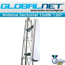 Antena Itelite Sectorial Mimo 2.4ghz 15dbi 120º 2x2 Ubiqui
