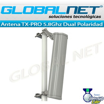 Antena Sectorial Tx-pro 19dbi 120º Dual Polaridad 2x2 5.8ghz