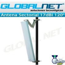 Antena Sectorial Hyperlink Hg2417p-120 2.4ghz 17dbi 120º