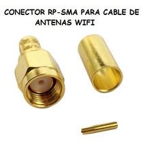 Conector Rp-sma Utilizado En Los Cables De Antena Wifi