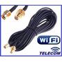 Cable Extencion Wifi Rp-sma Para Antenas 3mts!
