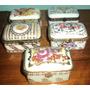 Muy Preciosa Coleccion De Cofre De Porcelana Fina / *europa*