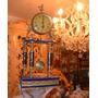 Reloj Antiguo De Porcelana Y Bronce. Auténtica Reliquia.