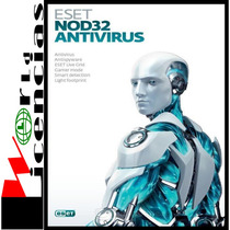 Licencia Eset Nod32 Antivirus V8 1 Año X 3 Pc Windows
