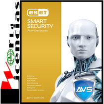 Licencia Eset Smart Security V8 2 Año X 3 Pc Windows