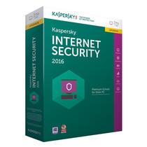 Kaspersky Internert Security 2016 I Licencia 3 Pcs X 2 Años