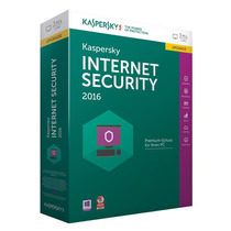 Kaspersky Internert Security 2016 ® I Licencia 10pcs X 1 Año