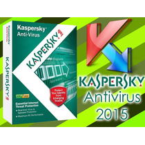 Licencia Antivirus Kaspersky 2015 Original 1pc 1año Con Cd