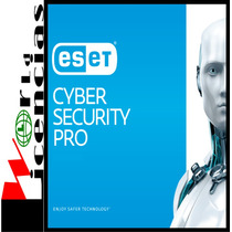 Eset Cyber Security Pro Licencia Original 3 Año X 1 Mac