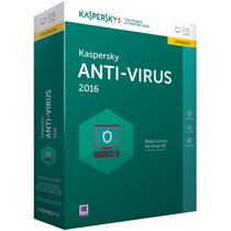 Kaspersky Antivirus 2016 ® I Licencia Digital 5 Pc
