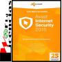 Licencias Avast Internet Security Suite 2015 2 Año X 5 Pc