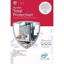 Antivirus Mcafee Total Protection 2015 (digital)