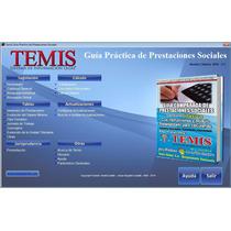 Temis Guía Práctica De Prestaciones Sociales - Cálculo