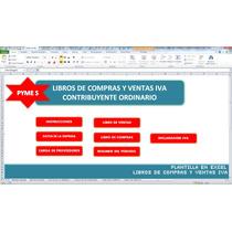 Libros De Compras Y Ventas Iva , En Excel