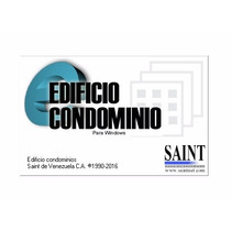 Saint Administración Condominio. Windows 8/10 (32 / 64 Bits)
