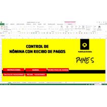 Control De Nomina , En Excel