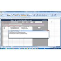 Archivo Txt Excel Abono Bicentenario Nomina
