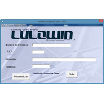 Lulowin Ng 100% Personalizable, Con Lulocron, Version Final*