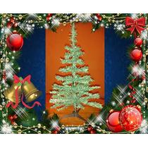 Arbolito De Navidad Para Mesa De 60cm Y 56 Ramas