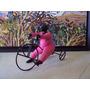 Escultura En Resina Del Artista Neptaly Valero (triciclo)
