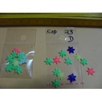 Masa Flexible Flores Para Apliques- Estrellitas De 2cm