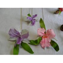 Arreglos De Torta Flores- Hojas -orquidea (unidad) 10cm