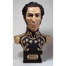 Esculturas Busto Libertador Simon Bolivar Rostro Actualizado