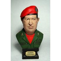 Escultura Busto Presidente Hugo Chavez