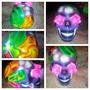 Oferta Nueva Calavera Mexicana Skull Catrina Morada Negociab