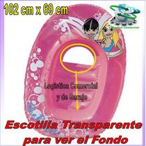 Bote Inflable Flotador Para Niñas The Belles Bestway 102x69c