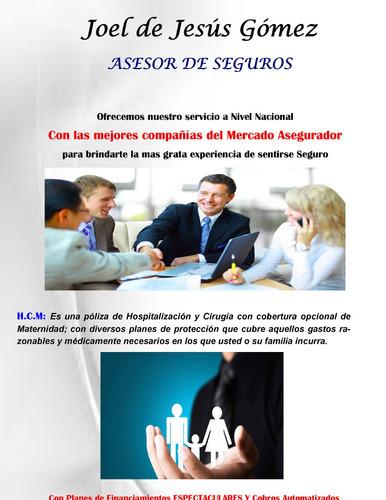 Asesor De Seguros / Corredor De Seguros