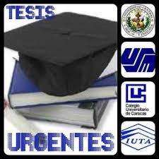 Asesoría De Trabajos De Grado Y Proyectos De Tesis Urgent