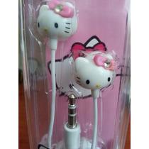 Audífonos De Hello Kitty Sanrio Importados Para Iphone