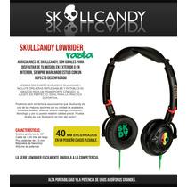 Audífonos Skull Candy Rasta
