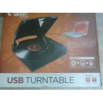Convertidor De Discos De Acetato Lp (long Play) A Usb Mp3