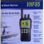 Radio Marino Portatil Vhf 85 West Marine