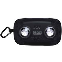 Corneta Portatil Radio Reloj Para Mp3 Ipod Iphone Celular