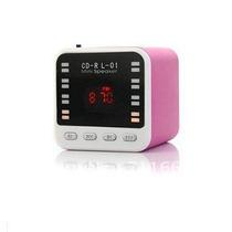 Mini Altavoces Portatil Digital Fm , Usb, Micro Sd, Line In