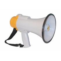 Megafono Parlante 15wtts,nuevo, Con Grabadora, Alarma Sirena